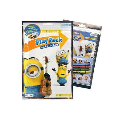 Despicable Me 'The Minions' Play Pack Grab and - Play Pack Grab And Go