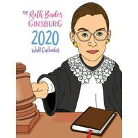The Ruth Bader Ginsburg 2020 Calendar (Paperback)