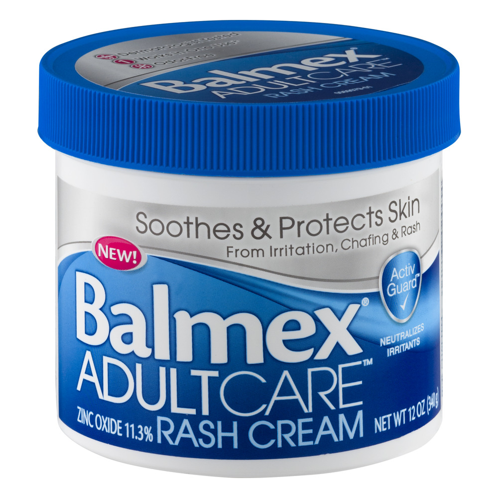 Balmex Adult Care Rash Cream, 12.0 OZ