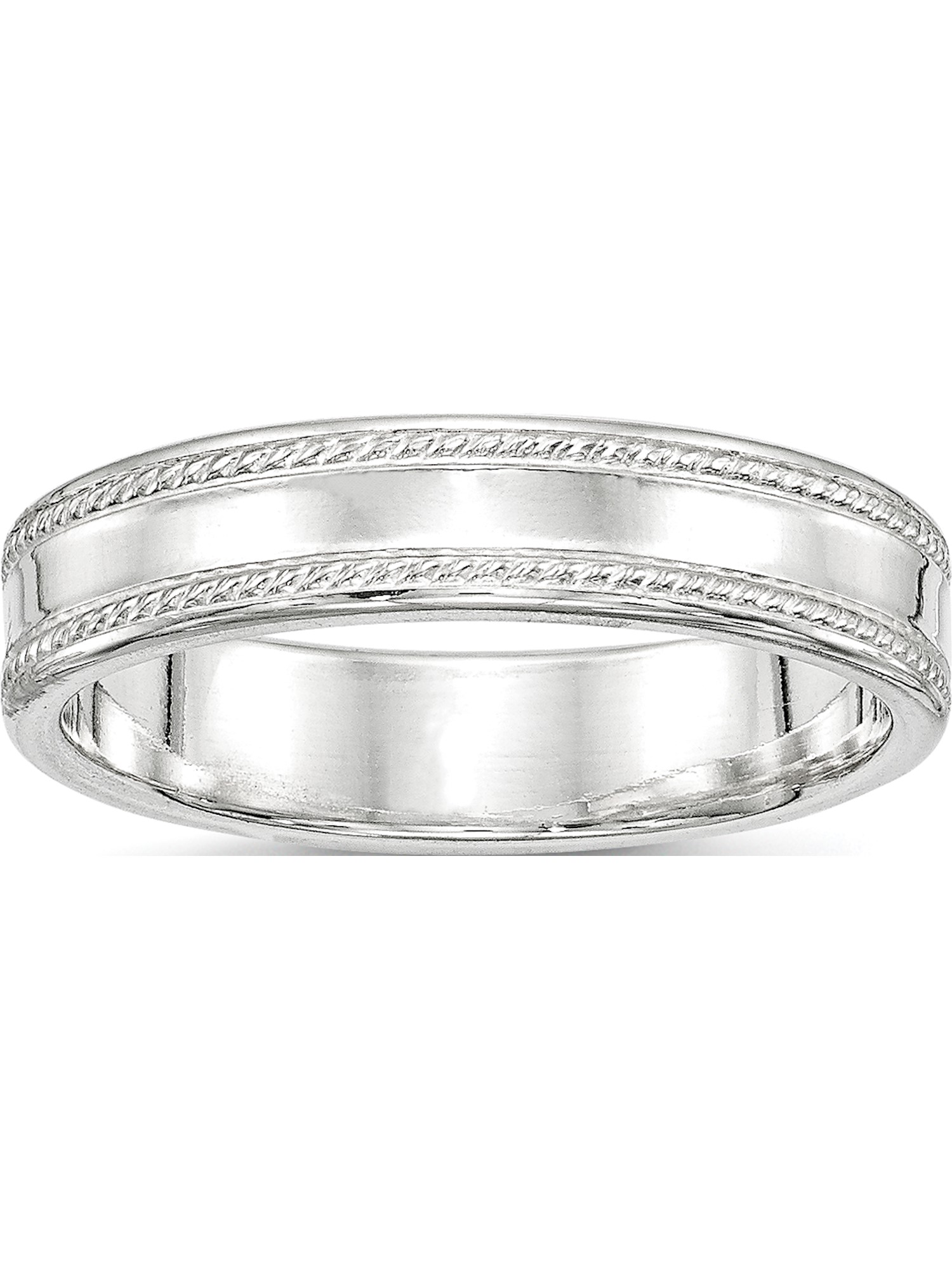 Sterling Silver queen design Ring 5mm