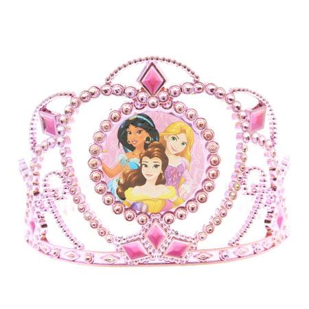 Disney Princess Girl Tiara Kids Hair Accessory Crown Stocking Stuffer (2 Colors)