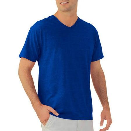 c8113a0a Fruit of the Loom - Platinum EverSoft Mens Short Sleeve V Neck T Shirt -  Walmart.com