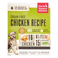 The Honest Kitchen Force: Natural Human Grade Dehydrated Dog Food, Grain Free Chicken, 10 lbs (Makes 40 lbs)