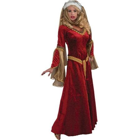 Scarlet Renaissance Adult Halloween Costume