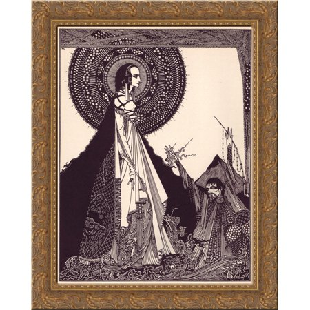 Tales of Mystery and Imagination by Edgar Allan Poe 24x18 Gold Ornate Wood Framed Canvas Art by Harry -