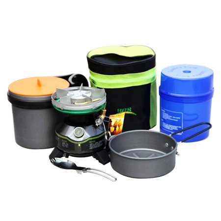 BRS High-end Outdoor Camping Gasoline Non-preheating Oil-burning Boiler Travelling Field Fishing Picnic Furnace Portable ()