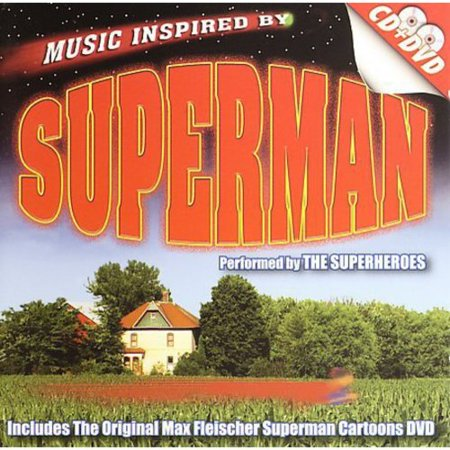 Music Inspired By Superman Score (Includes DVD) (Halloween Film Music Score)
