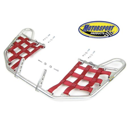- Suzuki LTR450 LTR 450 Quadracer Nerfbars Atv Nerf Bars Silver Bars/Red Nets