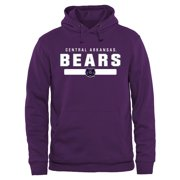 Central Arkansas Bears Team Strong Pullover Hoodie - Purple
