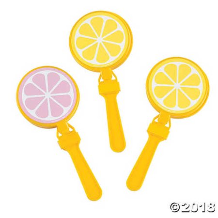 Lemonade-Shaped Hand Clappers](Large Hand Clappers)
