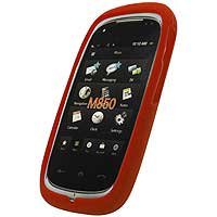 Red Gel Silicone Skin Case For Samsung Instinct HD M850 [Cellet Packaging]