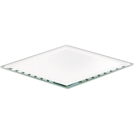 Plymor Diamond 3mm Beveled Glass Mirror, 3 inch x 5 inch ()