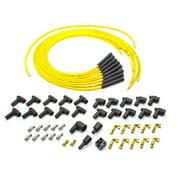 Moroso Blue Max Spark Plug Wire Set Spiral Core 8 mm Yellow V8 P/N 73216