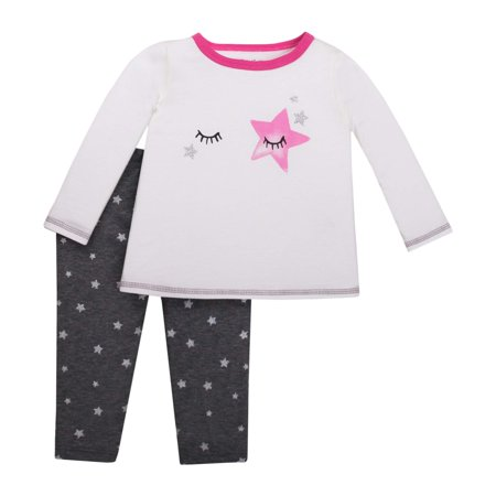 Newborn Baby Girl Long Sleeve Top & Legging 2pc Outfit Set - Newborn Halloween Outfit