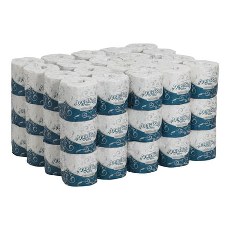 Georgia-Pacific Angel Soft Ultra 2-Ply Embossed Toilet Paper, 16560, 60 Rolls per Case