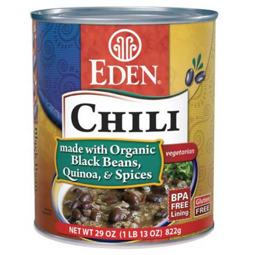 Eden Chili - Black Beans & Quinoa, 29 Ounce (Pack of 6)