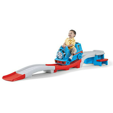 Thomas the Tank Engine Roller Coaster Toys with High Seat Back and Foot