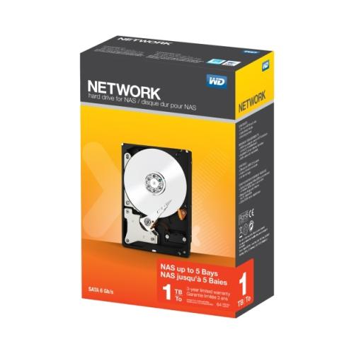 Wd WD 1 TB WD Network NAS Hard Drive 3.5 inch SATA III up to 5-bay Systems 2RG9964