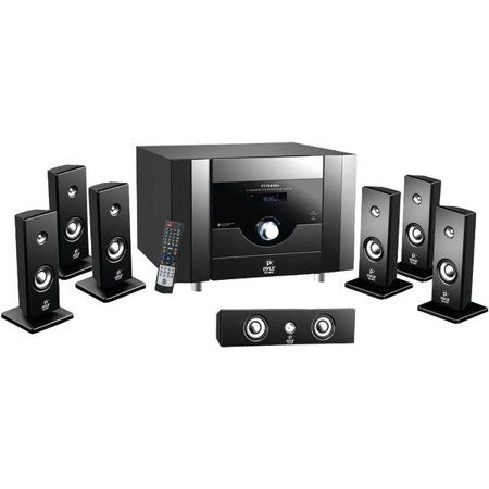 7.1-Channel Home Theater System with Bluetooth
