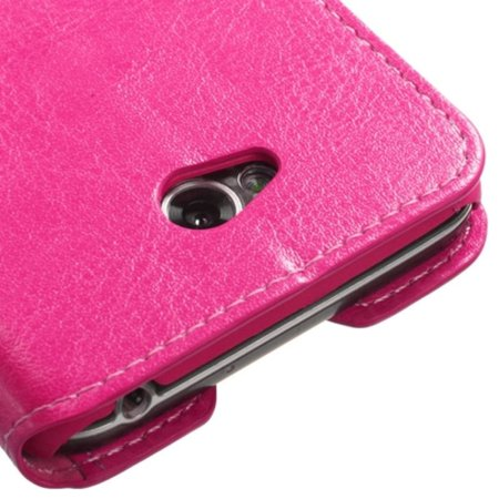 Insten Premium Hot Pink Hybrid TUFF Phone Cover Case For LG Optimus L70 Exceed II Dual D325 - image 5 of 5