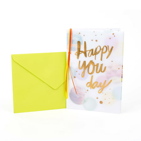 Hallmark, Happy You Day, Birthday Greeting Card