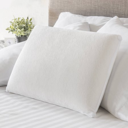 Perfect Pillow Memory Foam Traditional Bed Pillow : Mainstays Traditional Memory Foam Pillow - Walmart.com