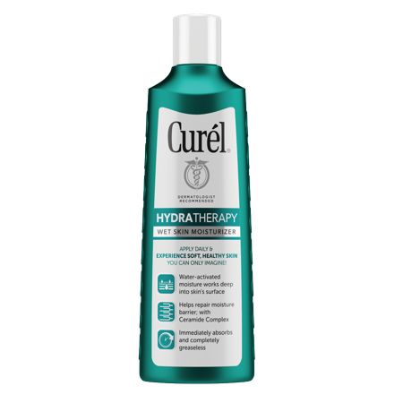 Dry Skin Therapy (Curel Hydra Therapy Wet Skin Moisturizer for Dry & Extra-Dry Skin, 8)