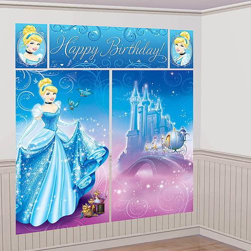 Cinderella Scene Setter Kit, Blue