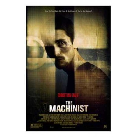The Machinist Movie Poster  11 X 17