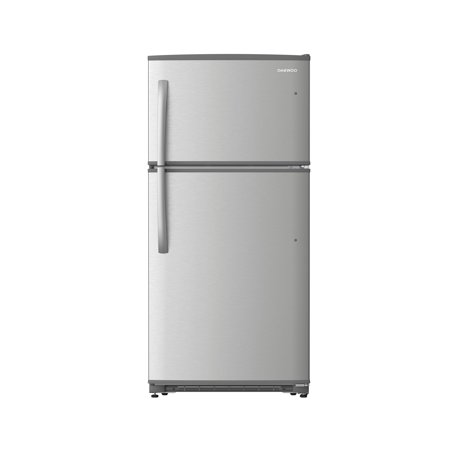 Daewoo RTE21GBSLS Top Mount Refrigerator 21 Cu. Ft. | (Kenmore 21 Cu Ft Refrigerator Side By Side)