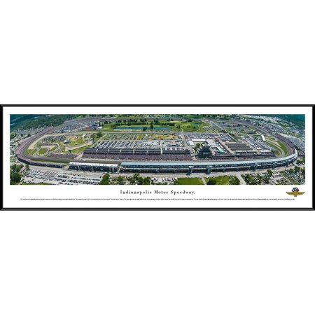 Indy 500 - 100th Anniversary of the 500 Mile Race - Blakeway Panoramas Print with Standard Frame