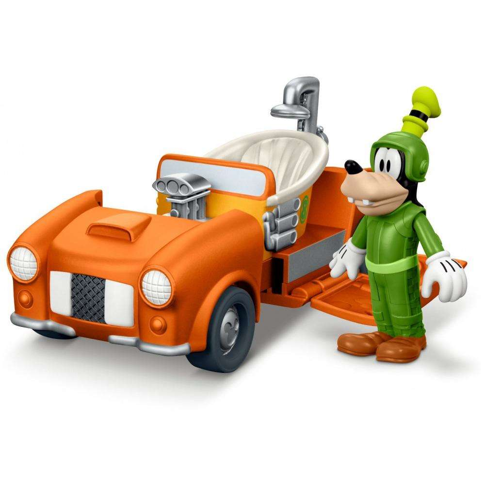 Disney Mickey Mouse and the Roadster Racers Transforming Racer Goofy by FISHER PRICE