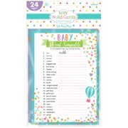 Baby Shower Word Scramble Party Game (1ct)