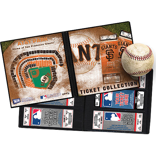 "MLB Ticket Album, 8-1/4"" x 8-3/4"""