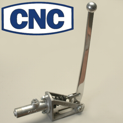 Cnc Silver Hand Operated Brake Assembly For Disabled People With 1-1/16 Master For Remote Reservoir