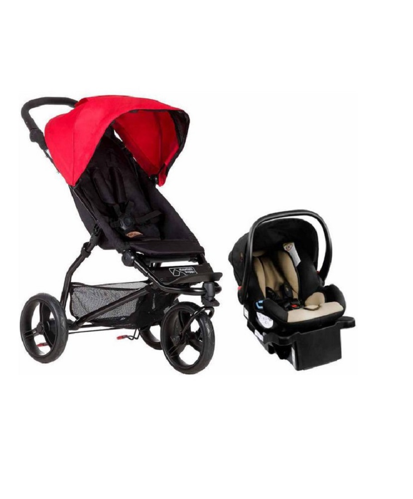 Mountain Buggy 2015 Mini Compact Travel System, Berry by Mountain Buggy