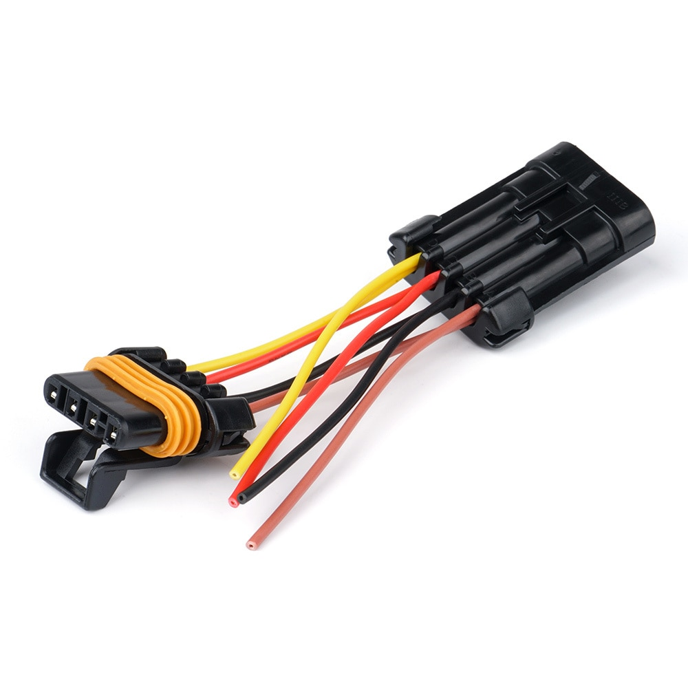 UTV INC 2015 Polaris RZR Plug /& Play Tail Light Accessory Wiring Harness