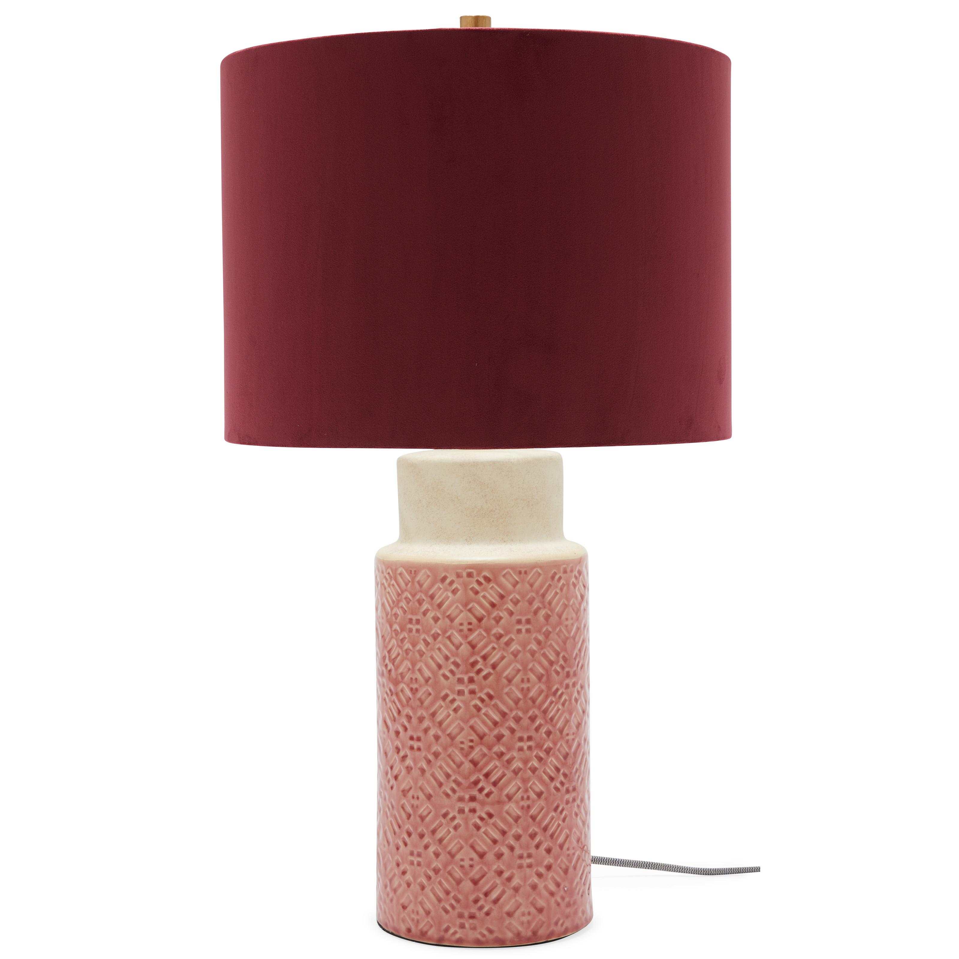 Verona Table Lamp NEW Fusion Pink £9.99 Free P/&P