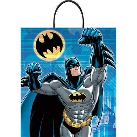 BATMAN DELUXE PLASTIC LOOT BAG](Batman Party Bags)