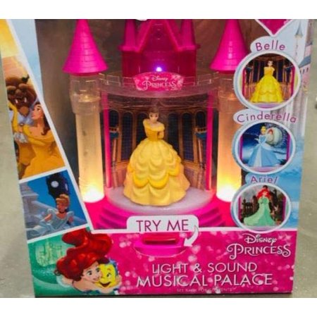 Disney Princess Light & Sound Musical Palace - Belle, Cinderella & Ariel - Disney Princess Bella