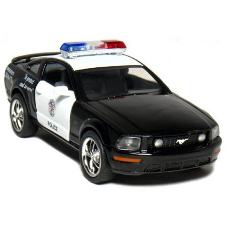 Ford Mustang GT Police 2006 Black & White 1-38 Toywonder (Mustang Gt Manual)