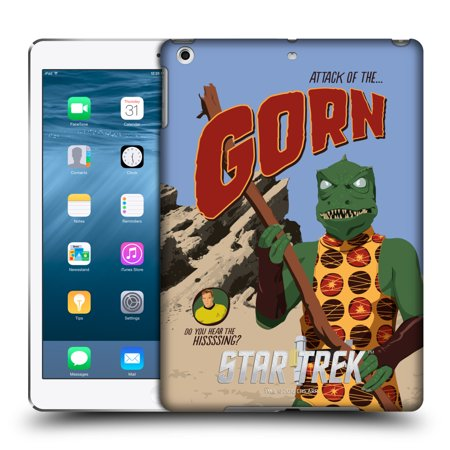 OFFICIAL STAR TREK EMBOSSED ICONIC CHARACTERS TOS HARD BACK CASE FOR APPLE IPAD