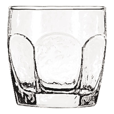 "Chivalry Rocks Glasses, 10oz, 3 3/8"" Tall LIB2485"