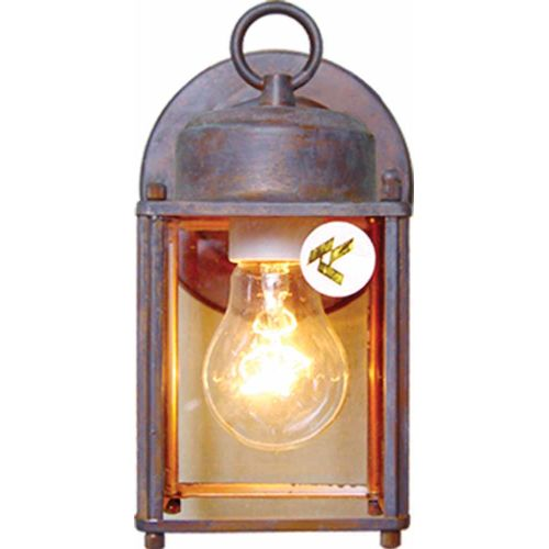 "Volume Lighting V9270 Energy Saving Outdoor 1 Light 8"" Height Outdoor Wall Sconc"
