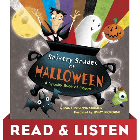 Shivery Shades of Halloween: Read & Listen Edition - eBook