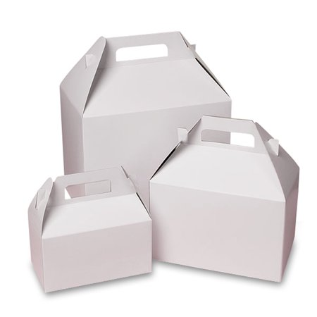 White Gable Boxes 9
