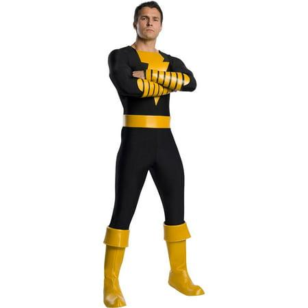 Adam Banks Halloween (Halloween Shazam! Black Adam Deluxe Adult)