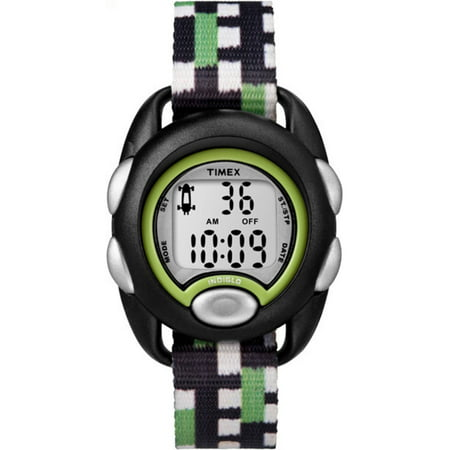 Click here for Timex Boys Time Machines Digital Black/Green Watch... prices