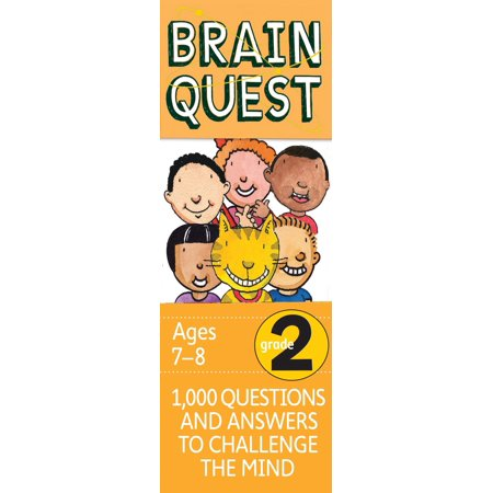 Brain Quest Decks: Brain Quest Grade 2: 1,000 Questions and Answers to Challenge the Mind (California Physical Science Textbook 8th Grade Answer Key)