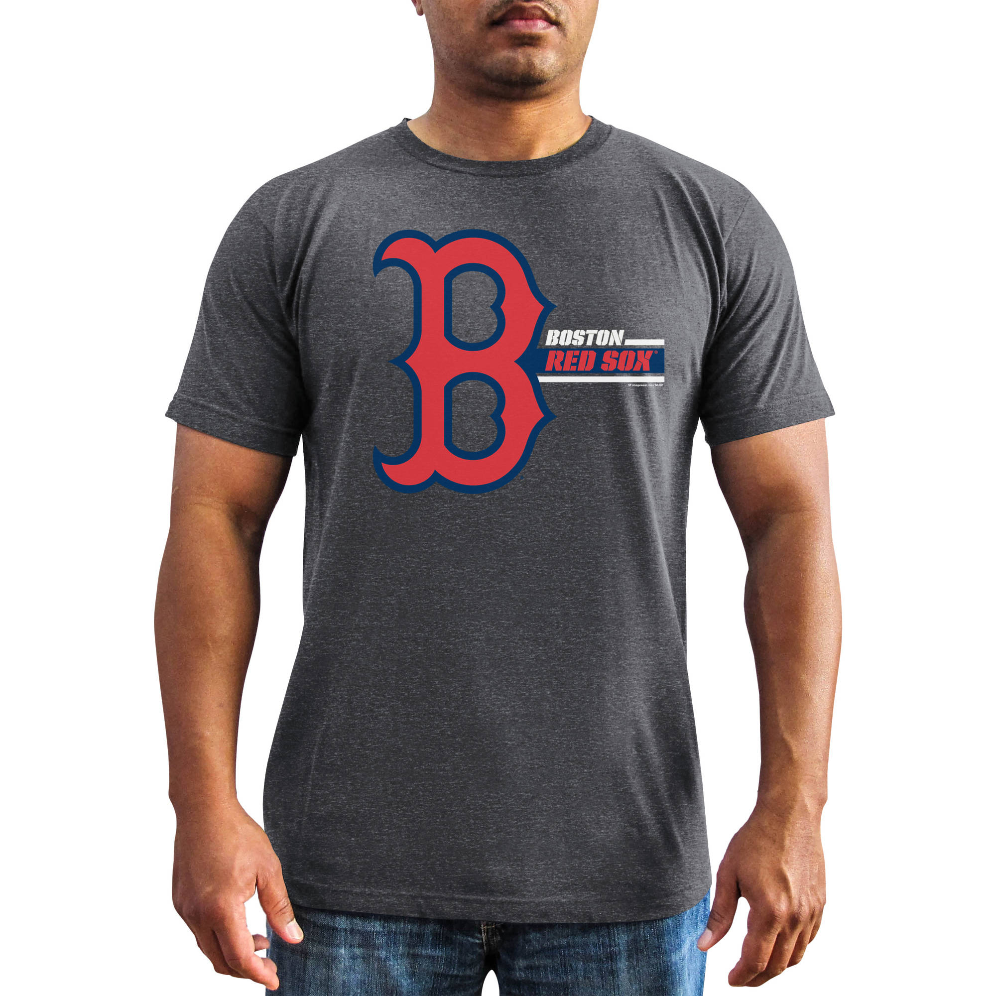 MLB - Big Mens Boston Red Sox Short Sleeve Team Tee